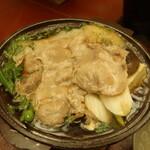 霞月楼 - 豚陶板焼き