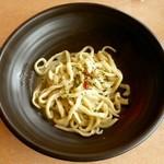 キッチンつばさ - SANUKI ペペロンチーノ ※単品 ¥380 ※サラダバー付 ¥680