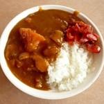 キッチンつばさ - (サラダバー) 太陽のトマトdeチキンカレー