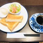 カフェフェリーチェ - モーニング 638円