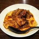 chainadainingukaragura - フカのコラーゲンと角煮入りトロミ麻婆豆腐