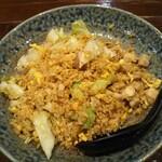 chainadainingukaragura - 鶏とガーリックのチャーハン