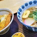 Ichifuku - ミニカツ丼そばセット