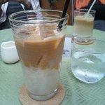 ロビー喫茶 サリダ - アイスカフェラテ