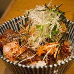 中村屋@ウエストパークカフェ - らぁ油焼豚飯