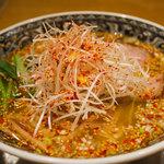 中村屋@ウエストパークカフェ - 柚子辛麺