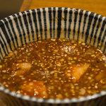 中村屋@ウエストパークカフェ - つけ麺(スープ)