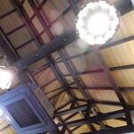 125130964 - 梁がむき出しの高い天井:何故か情緒を感じます。