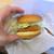 モスバーガー - チキンバーガー(チーズ)326円 …バーガーを手に持った時に落としそうになって盛り付けが汚くなってしまいました、配膳時はずっと綺麗な状態です