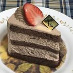 125140061 - チョコクリームたっぷりのガトーショコラ!