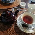 cafe copan - セットの紅茶
