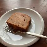 ソニアコーヒー - ハスカップケーキ