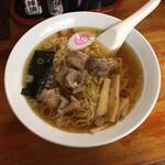 萬福 - 料理写真:親鶏入り中華そば 660円