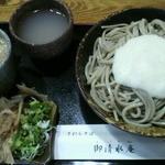 12515153 - おろしとろろそば(並)(650円)
