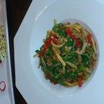 煌・中国料理 - 牛肉とピーマンの細切り炒め