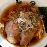 三河麺don家 - 料理写真:醤油ラーメン 650円