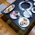 海鮮焼 かねじょう - 料理写真:海鮮焼き