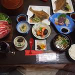 たまや旅館 - 料理写真:夕ご飯