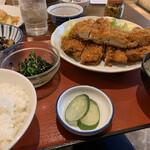 天神橋2丁目食堂 - チキンカツ定食