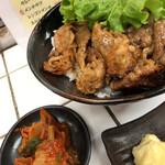 肉のヤマキ商店 - 焼き肉丼