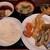 天ぷら大吉 - 料理写真:名物のあさり汁や小鉢、大根おろしたっぷりの天つゆ付き!レディースセットランチ800円