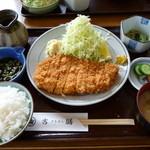 吉膳 - 特ロースカツ定食