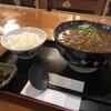 仁川うどん - 料理写真:カツカレーうどんとライス