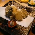125174033 - 季節の野菜天ぷら