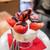 ミキ フルーツ カフェ - ミニいちごチョコパフェ