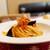 パスタパスタ - 料理写真:ナスとベーコンのパスタ(ランチセット)