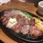 1ポンドのステーキハンバーグ タケル - カットヒレ肉250g