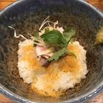 中華そば 先崎 - 料理写真:カラスミ茶そば