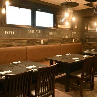 仲町台駅から徒歩2分◆駅近のオシャレなレストランでお食事を…