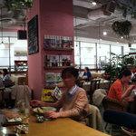 クックコープカフェ - 店内パノラマ