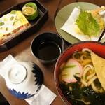 白為旅館 - 料理写真:白為の岩国寿司のセット