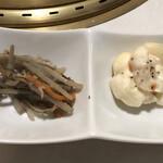 肉の匠 将泰庵 - 小鉢2品