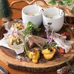 ブルーグロッソ - ブルーグロッソ 旬の前菜5種盛り合わせ