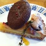 コーヒーと焼き菓子のお店 joia - リンゴとブルーベリーのタルト
