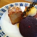コーヒーと焼き菓子のお店 joia - 杏とアーモンドのケーキ