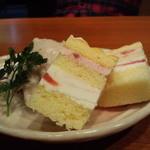 蒸musunん - 無添加いちごジェラートとフローズンケーキ