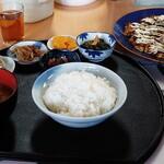 恵美 - 料理写真:お好み焼き定食