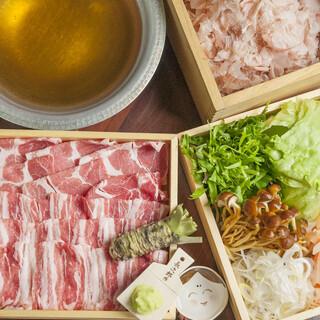 美味しさのつまった「究極の出汁しゃぶ」コース3500円~