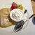 むさしの森珈琲 - 料理写真:フルーツMIXふわっとろフレンチトースト