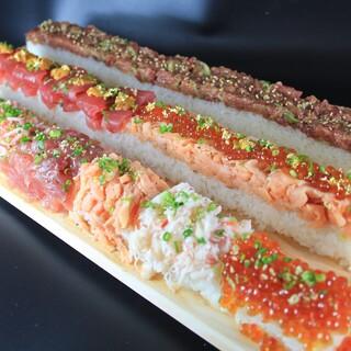 40cm!!ロング寿司