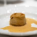 la Brianza - アーティチョークのスフォルマート 桜海老のソース