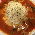 太陽のトマト麺 - 太陽のチーズトマト麺 (麺とチーズ 増量ver.)