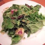 1252402 - サラダは野菜がたっぷりです。菜の花やささみも入ってます。