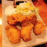 一品料理 ひとしな - 牡蠣フライ