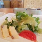 アロマ デル ソーレ - ランチ サラダ