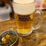 125205077 - 生ビール(大)とお通し
